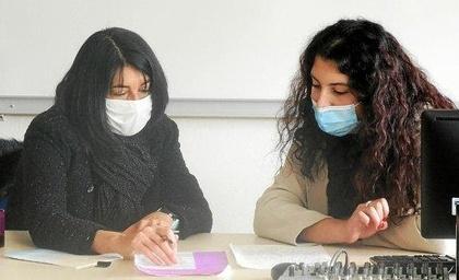 À Guingamp, les lycéennes de Pavie rencontrent leurs marraines
