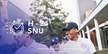 SNU - rencontre entre les élèves et la secrétaire d''Etat Sarah El Haïry