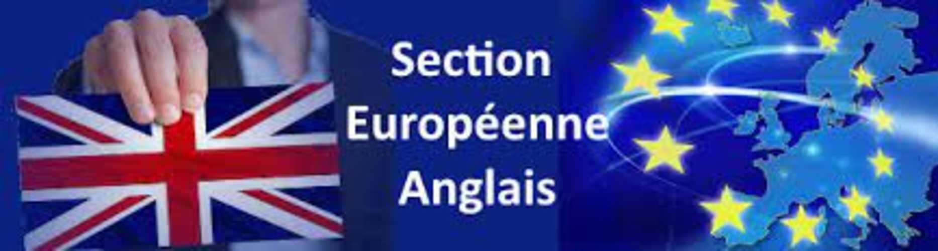 Section européenne anglais 0